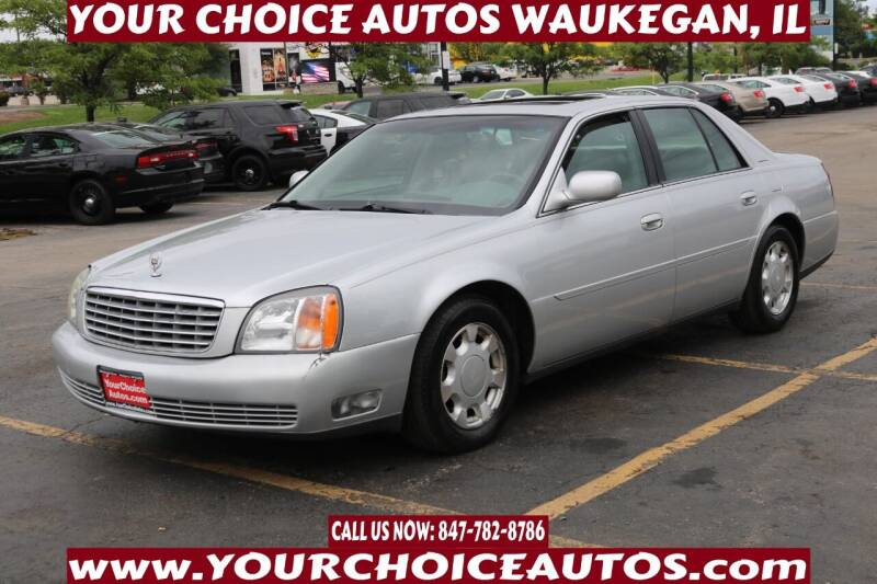 2000 Cadillac DeVille for sale at Your Choice Autos - Waukegan in Waukegan IL