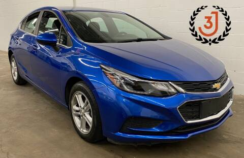 2017 Chevrolet Cruze for sale at 3 J Auto Sales Inc in Arlington Heights IL