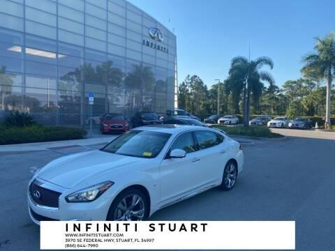 2018 Infiniti Q70L for sale at Infiniti Stuart in Stuart FL