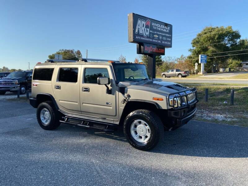2003 HUMMER H2 for sale at Auto Remarketing Group in Ocala FL