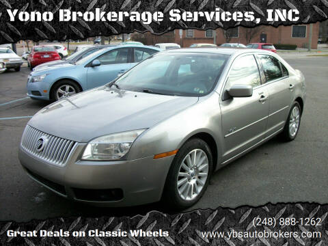 2008 Mercury Milan for sale at Yono Brokerage Services, INC in Farmington MI
