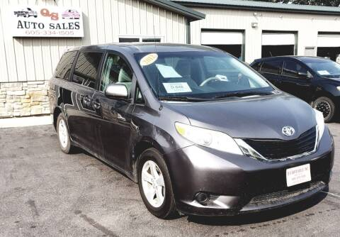 2012 Toyota Sienna for sale at QS Auto Sales in Sioux Falls SD