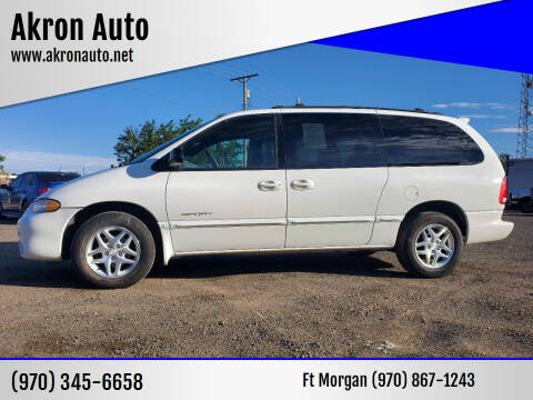 1999 Dodge Grand Caravan for sale at Akron Auto - Fort Morgan in Fort Morgan CO