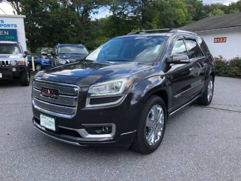 2016 GMC Acadia for sale at Sports & Imports in Pasadena MD