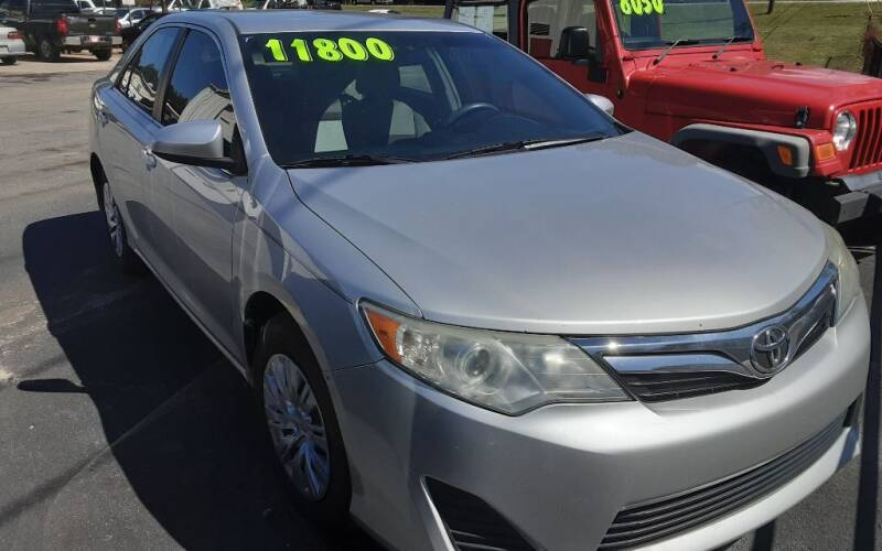 2012 Toyota Camry for sale at Mathews Used Cars, Inc. in Crawford GA