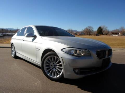 2012 BMW 5 Series for sale at Nations Auto in Lakewood CO