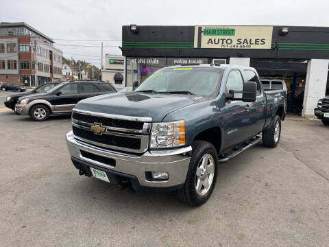 2011 Chevrolet Silverado 3500HD for sale at Wakefield Auto Sales of Main Street Inc. in Wakefield MA