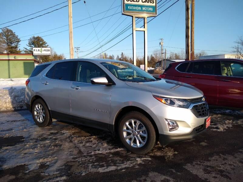 2020 Chevrolet Equinox for sale at KATAHDIN MOTORS INC /  Chevrolet Sales & Service in Millinocket ME