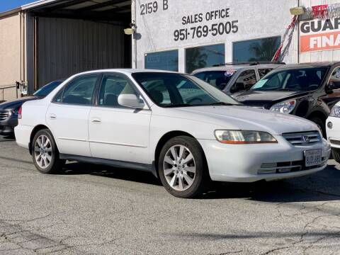 2001 Honda Accord for sale at Auto Source in Banning CA