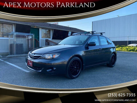 2010 Subaru Impreza for sale at Apex Motors Parkland in Tacoma WA