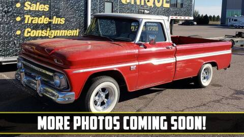 1966 Chevrolet C/K 10 Series for sale at UNIQUE SPECIALTY & CLASSICS in Mankato MN