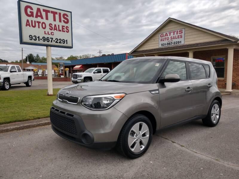 2016 Kia Soul for sale at Gattis Auto Sales LLC in Winchester TN