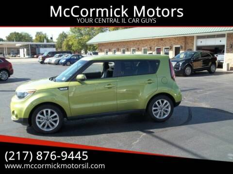 2017 Kia Soul for sale at McCormick Motors in Decatur IL