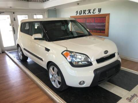 2010 Kia Soul for sale at Forkey Auto & Trailer Sales in La Fargeville NY