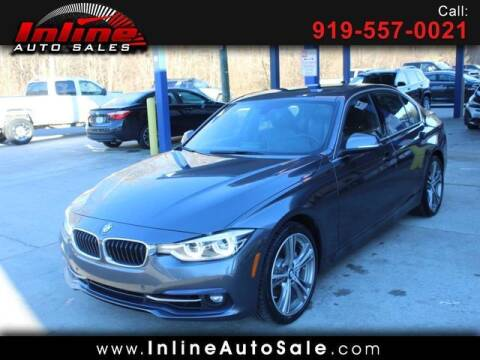 2016 BMW 3 Series for sale at Inline Auto Sales in Fuquay Varina NC