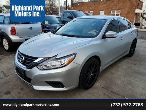 2017 Nissan Altima for sale at Highland Park Motors Inc. in Highland Park NJ