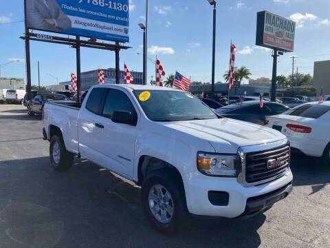 2018 GMC Canyon for sale at MACHADO AUTO SALES in Miami FL