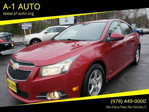 2013 Chevrolet Cruze for sale at A-1 Auto in Pepperell MA