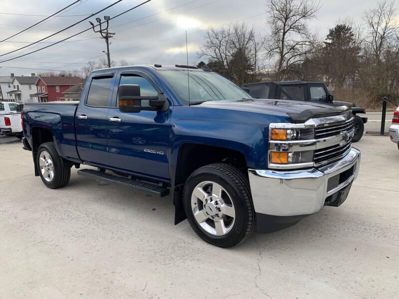 2017 Chevrolet Silverado 2500HD for sale at Twin Rocks Auto Sales LLC in Uniontown PA