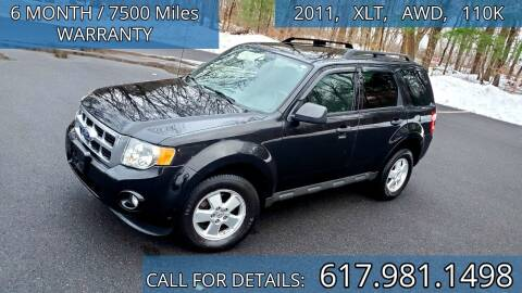 2011 Ford Escape for sale at Wheeler Dealer Inc. in Acton MA