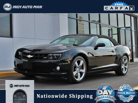 2011 Chevrolet Camaro for sale at INDY AUTO MAN in Indianapolis IN