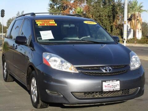 2007 Toyota Sienna for sale at PRIMETIME AUTOS in Sacramento CA