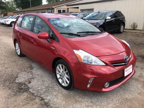 2012 Toyota Prius v for sale at Truck City Inc in Des Moines IA