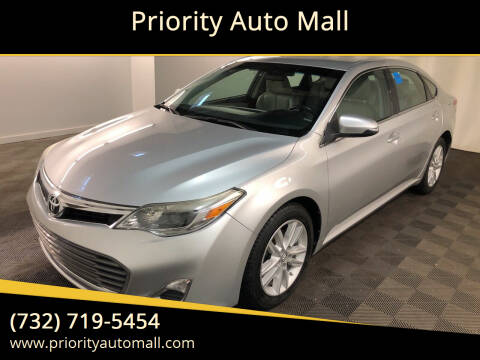 2013 Toyota Avalon for sale at Mr. Minivans Auto Sales - Priority Auto Mall in Lakewood NJ