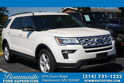 2018 Ford Explorer for sale at NICK FARACE AT BOMMARITO FORD in Hazelwood MO