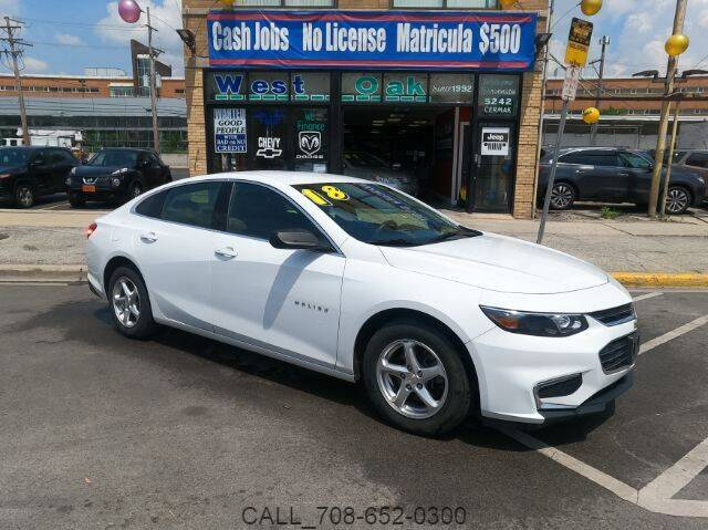 2018 Chevrolet Malibu for sale at West Oak in Chicago IL