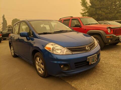2011 Nissan Versa for sale at M AND S CAR SALES LLC in Independence OR