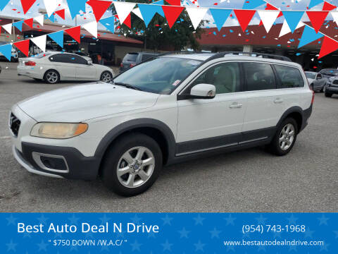 2010 Volvo XC70 for sale at Best Auto Deal N Drive in Hollywood FL