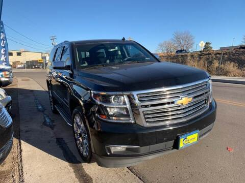 2015 Chevrolet Tahoe for sale at New Wave Auto Brokers & Sales in Denver CO