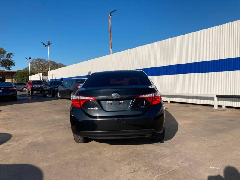 2014 Toyota Corolla L 4dr Sedan 4A - Houston TX