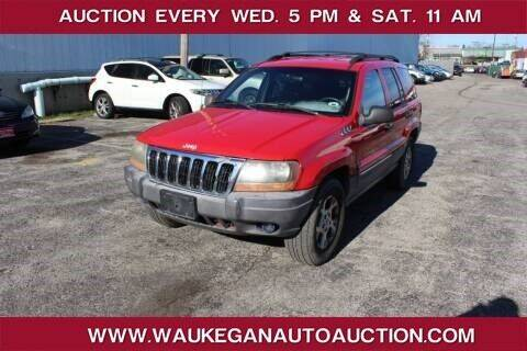 1999 Jeep Grand Cherokee for sale at Waukegan Auto Auction in Waukegan IL