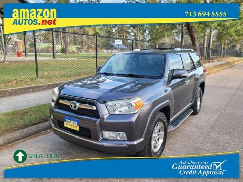 2012 Toyota 4Runner for sale at Amazon Autos in Houston TX