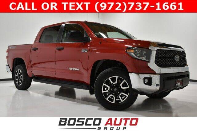 2019 Toyota Tundra for sale at Bosco Auto Group in Flower Mound TX