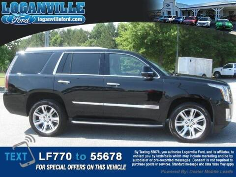 2017 Cadillac Escalade for sale at Loganville Ford in Loganville GA