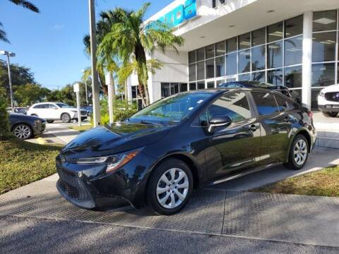 2020 Toyota Corolla for sale at Mazda of North Miami in Miami FL