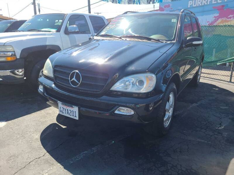 2003 Mercedes-Benz M-Class for sale at ANYTIME 2BUY AUTO LLC in Oceanside CA