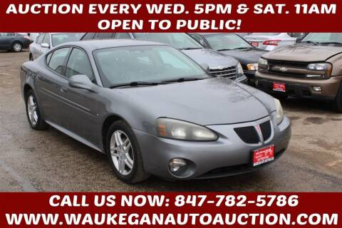 2007 Pontiac Grand Prix for sale at Waukegan Auto Auction in Waukegan IL