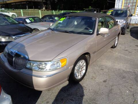 1998 Lincoln Town Car for sale at Wheels and Deals 2 in Atlanta GA