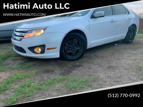 2011 Ford Fusion for sale at Hatimi Auto LLC in Buda TX