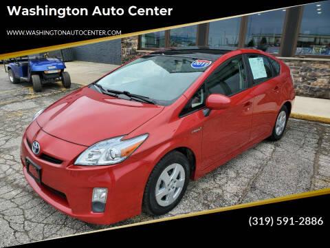 2011 Toyota Prius for sale at Washington Auto Center in Washington IA
