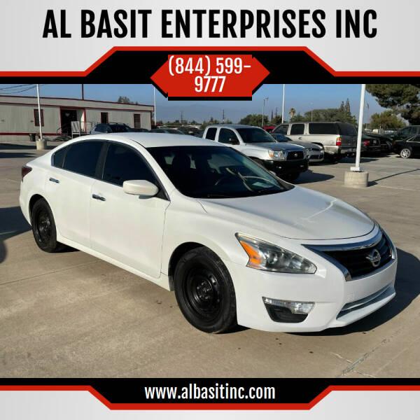 2014 Nissan Altima for sale at AL BASIT ENTERPRISES INC in Riverside CA