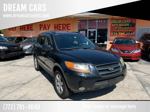 2009 Hyundai Santa Fe for sale at DREAM CARS in Stuart FL