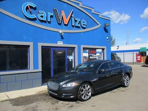 2015 Jaguar XJ for sale at Carwize in Detroit MI