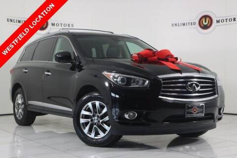 2014 Infiniti QX60 for sale at INDY'S UNLIMITED MOTORS - UNLIMITED MOTORS in Westfield IN