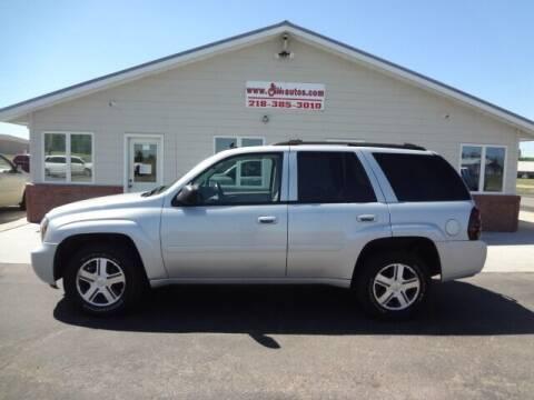 2008 Chevrolet TrailBlazer for sale at GIBB'S 10 SALES LLC in New York Mills MN