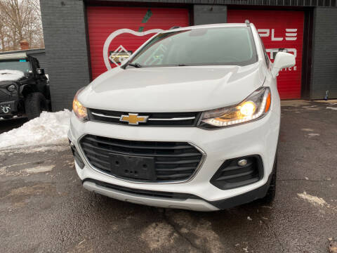 2017 Chevrolet Trax for sale at Apple Auto Sales Inc in Camillus NY